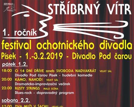 Stříbrný vítr - festival ochotnického divadla