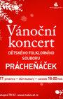 Vánoční koncert dětského folklorního souboru Prácheňáček 2019