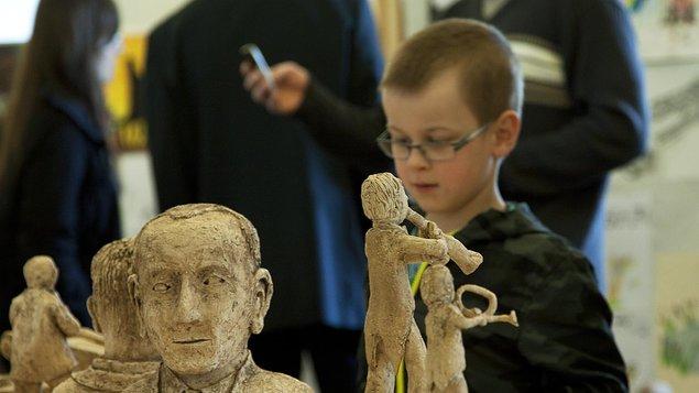 Vernisáž výstavy prací žáků ZUŠ
