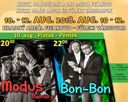 Koncert: MODUS Memory a BON-BON