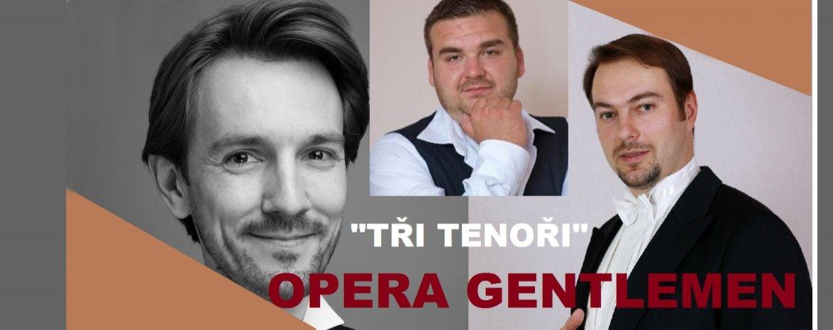Opera Gentlemen - Tři tenoři