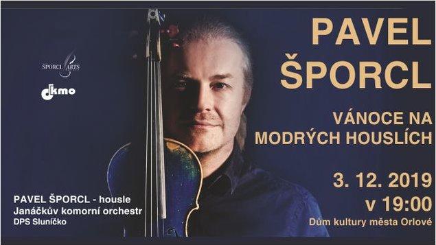 Pavel Šporcl - Vánoce na modrých houslích