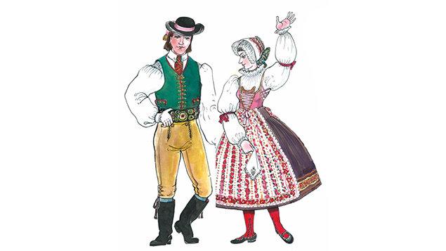 Folklorní ples k 45. výročí založení Písečanu ~ ZRUŠENO