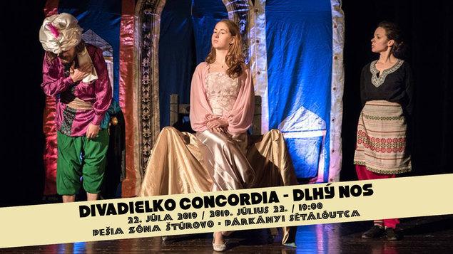 Divadielko Concordia - Dlhý nos (SK), 22.07.2019